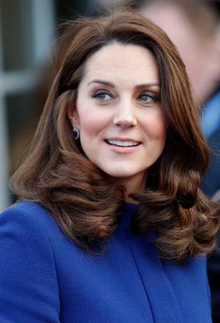 Kate Middleton Caramel Brown hair