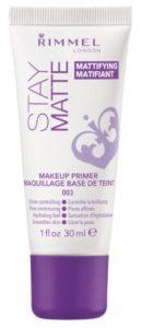 Rimmel-Stay-Matte-Primer is the best primer for oily skin