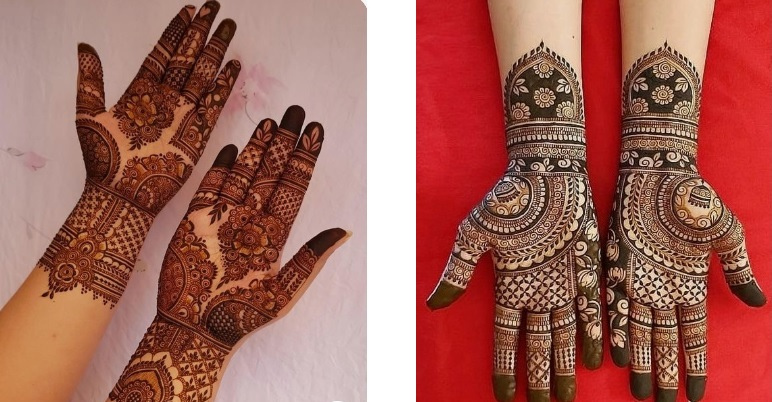 Simple Bridal Mehndi Designs For Hands