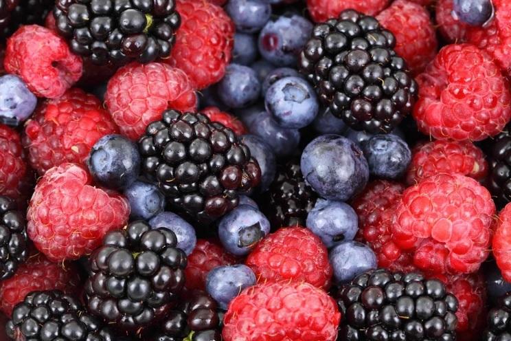 color full keto-Friendly Fruits