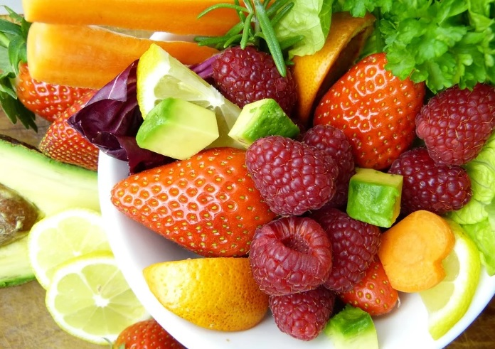 colorful Foods That Increase your Immunity in a bowl