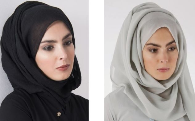girl with beck and white Arabic new hijab styles 2021