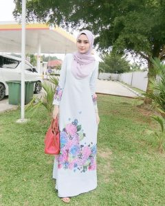 platinum white modest summer hijab outfit