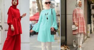 girls with modest Summer Hijab Outfit Ideas