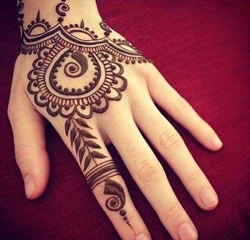 Henna Design 2020 Full Hand