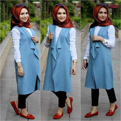 girl with Ootd Summer Hijab