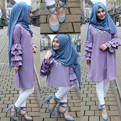 girl with Accessories and hijab
