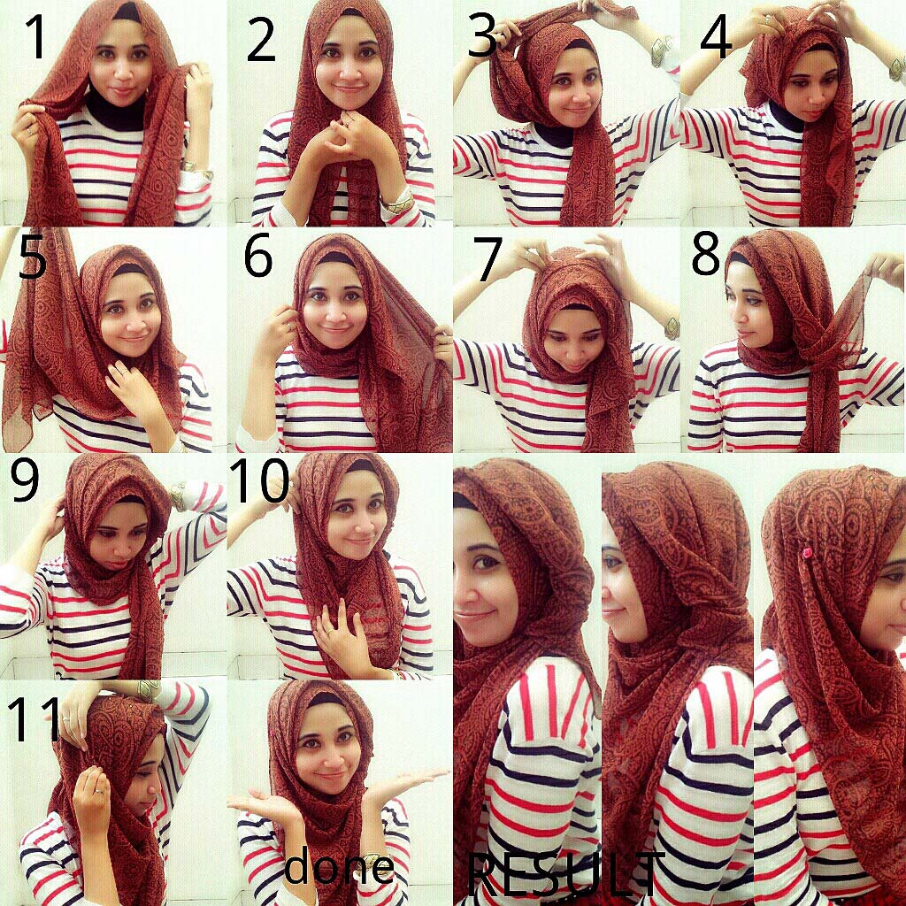 step by step guide for young school girl