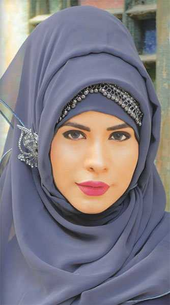 girl Latest Fashion Hijab with Outfit and Accessories