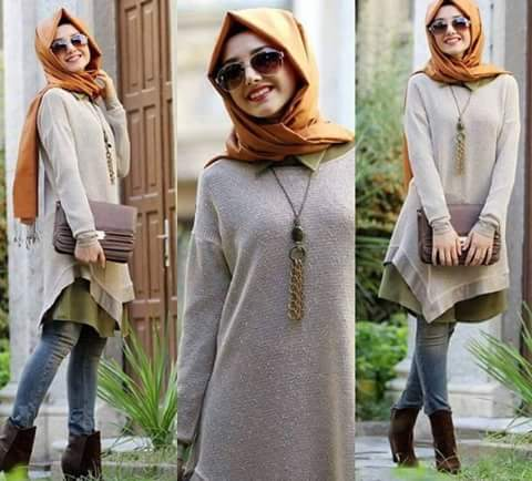 10 ways to style hijab outfit ideas with jeans