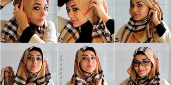 How to wear hijab with dupatta step by step