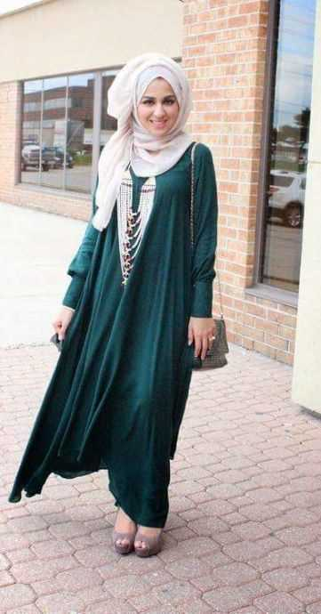 Stylish Fashion Hijab with accessories