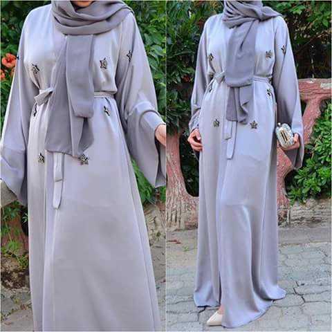 Stylish Latest Fashion Hijab with Outfit