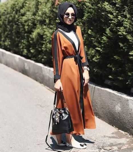 Stylish Latest Fashion summer Hijab with Outfit