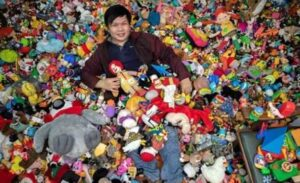 Percival R. Lugue Philippines with toys